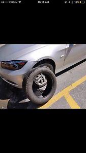 Set of all season bridgestone tires 300 obo