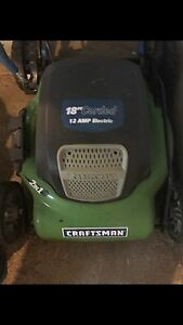 Electric lawn mower brand new