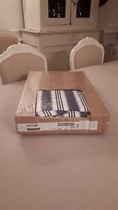 New IKEA sofa cover Ektorp 2 seat sofa / sofa bed Tuftaholm blue / white stripe
