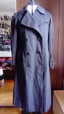 Superbe trench burberry vintage tbe femme 42