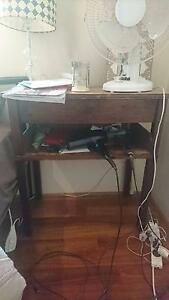 Bedside table Lavender Bay North Sydney Area Preview