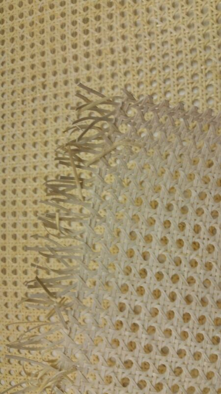 """Caning: Pre-woven Furniture Cane Web (18"""" Width) - Natural (BTF)"""