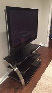 Plasma TV  and stand (see photo)