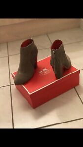 Coach Booties Size 6.5 WORN ONCE