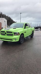 Looking for a 2017 Ram 1500 Sublime Green Sport