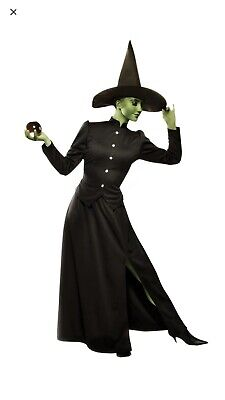 Brand New Classic Wicked Witch Adult Halloween Costume Size M