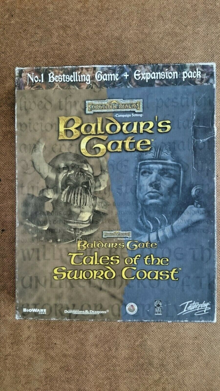 Baldur's Gate  and  Tales of the Sword Coast Expansion Pack Big Box Edition