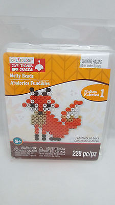 Kid's Crafts Thanksgiving / Fall Melty Bead Kit - Fox