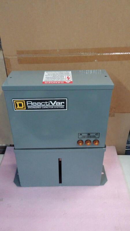 SQUARE D ReactiVar PFCD4005F 3 Phase 480 Volts Power Factor Correction Capacitor