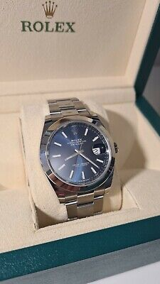 Rolex Datejust 41 mm Blue dial Oyster 2018
