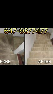 CARPET cleaning in GTA&MOVE in-MOVE out Cleaning services(etc.