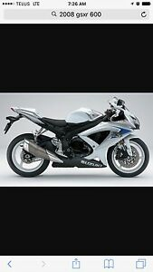 2008 GSXR 600 MINT!!! Only 3200 km