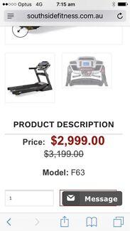 Treadmill Comercial Sole F63