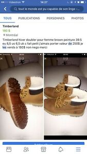 Timberland pour l hiver