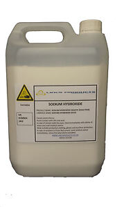 SODIUM HYDROXIDE(CAUSTIC SODA)  x 5kg SOAP/BIO/DRAINS