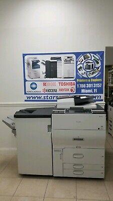 Ricoh Aficio Mp C6502 Color A3 Laser Multifunction Printer Copier Scanner 65 Ppm