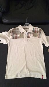 New boy Levi`s polo size 6.
