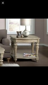 Beautiful end tables!! Smaller one is still in original box!
