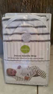 2x Playette Deluxe Swaddle Wrap Mirrabooka Stirling Area Preview