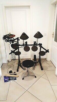 Yamaha DTExpress E-Drum Schlagzeug inkl. Hocker & Schlagstücke mit Handbuch. gebraucht kaufen  Gummersbach
