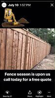 Book a date for a fence this year and save