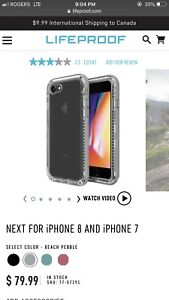 Brand new Lifeproof NEXT case for iphone 6/7/8 Plus.