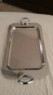 stainless steel serving tray Bentley Canning Area Preview