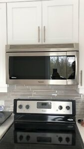 Brand New Panasonic Over-The-Range Microwave