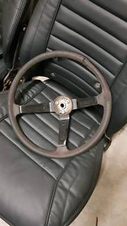 Datsun 260z steering wheel West Melbourne Melbourne City Preview