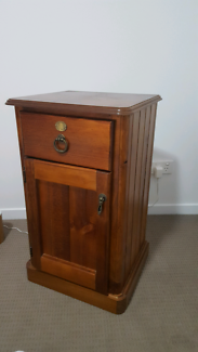 Wooden Bedside Cabinet Kedron Brisbane North East Preview