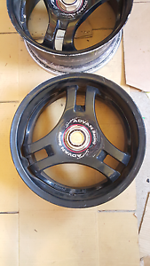 "Genuine set Super Advan 16"" 4x100 tri spoke jdm wheels rims Castle Hill The Hills District Preview"