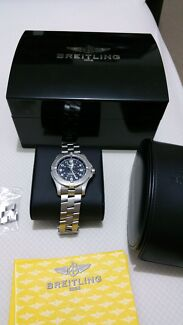 BRIETLING COLT STAINLESS STEEL WATCH Melbourne CBD Melbourne City Preview