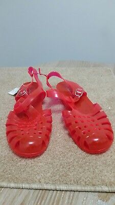 Womens pink jelly sandals. Brand new. Primark uk size medium Medium Pink Jelly