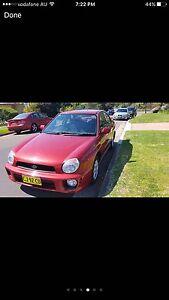 2001 Subaru Impreza Sedan Ashfield Ashfield Area Preview