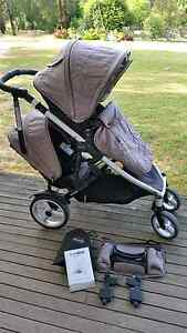 Steelcraft strider compact double pram Birregurra Colac-Otway Area Preview