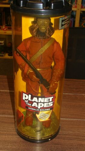 Planet of the Apes Gorilla Soldier 12 in Figure Hasbro Tube 1999