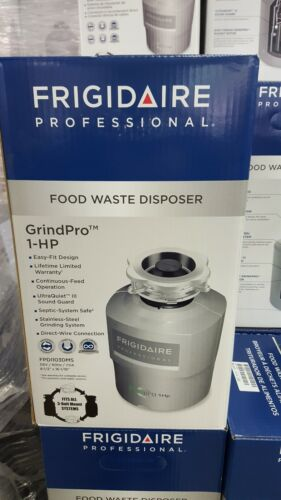 Frigidaire GrindPro 1-HP Garbage Disposer  Stainless Steel, Model # FPDI103DM