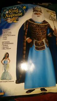 Disney costume - King Neptune Bradbury Campbelltown Area Preview