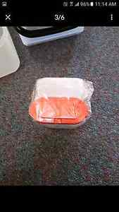 Tupperware red large spice containers x2 Midvale Mundaring Area Preview