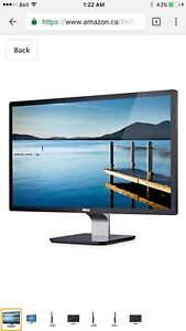 """Priced to go! Dell 24"""" hi-speed monitor s2440l"""