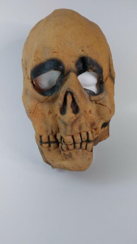 Vtg Halloween Skull Mask 1967 Don Post Studios