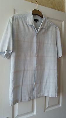 mens next short sleeve shirt size medium