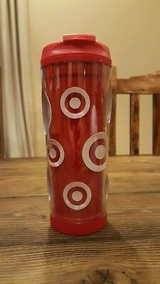 Target Red Thermos Coffee Tea Water Bottle Container Starbucks Limited Edition