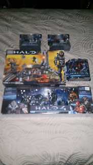 5 halo collectables all brand new and unopened