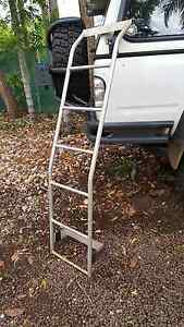Alloy ladder for roof rack Anula Darwin City Preview