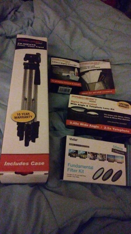 Camera accessories lot