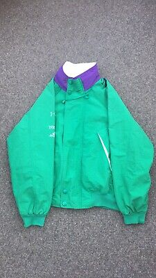 Vintage Nautica Challenge Green And Purple Jacket