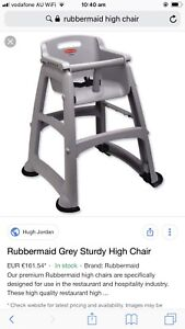 Rubbermaid high chair Clear Island Waters Gold Coast City Preview