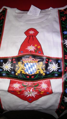 Youth,Kids,S.Germany,German,Trachten,Oktoberfest,Suspenders.T-Shirt,Edelweiss