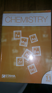 Chemistry atar year 11 text books Sorrento Joondalup Area Preview